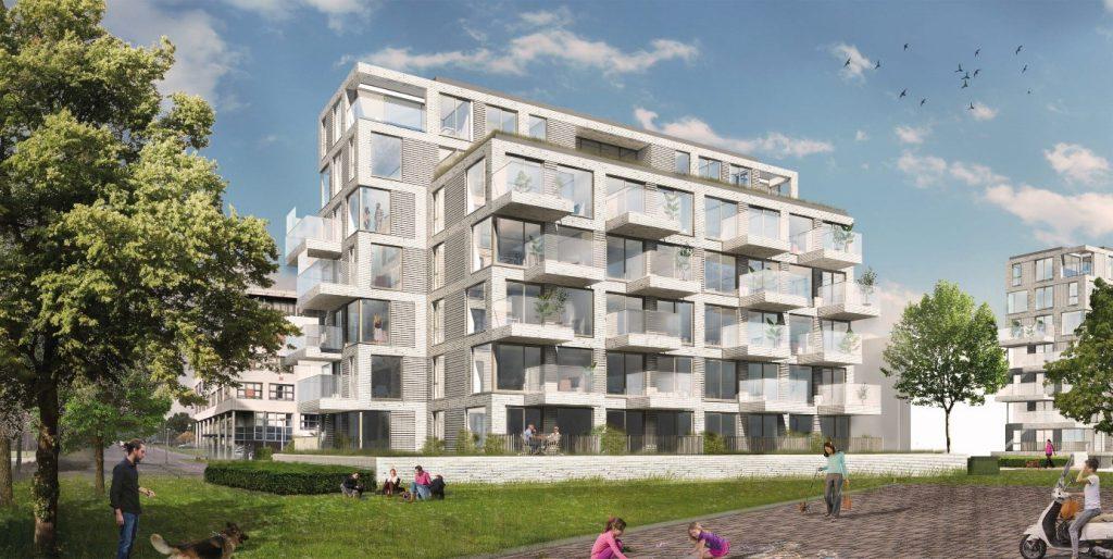 Maarsen Groep bouwt 68 appartementen in Amsterdam