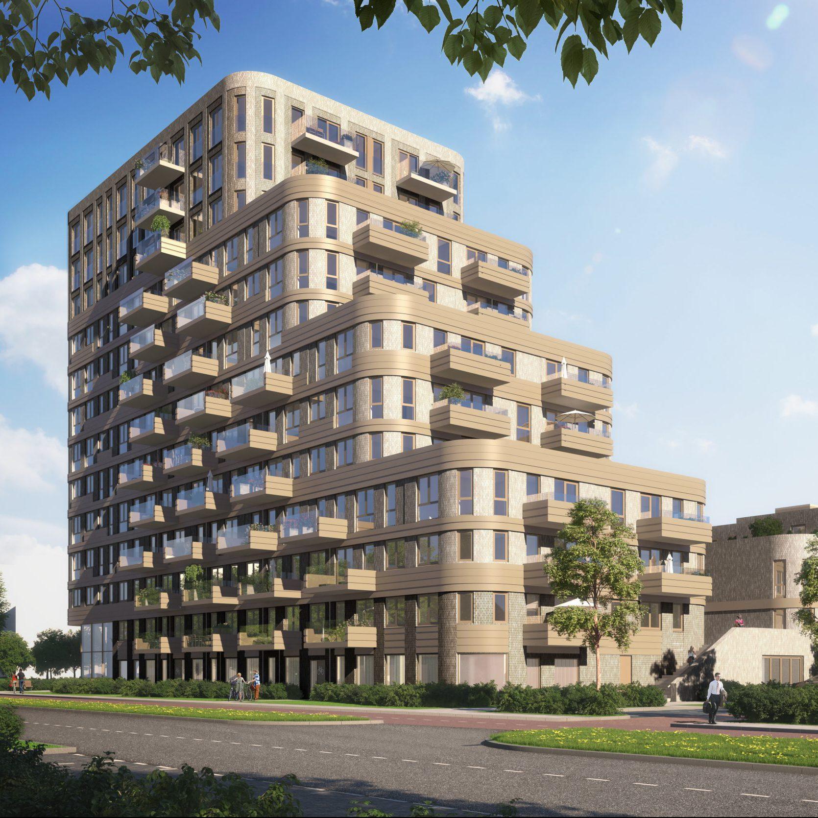 """Maarsen Groep start met de bouw van 140 huurwoningen """"De Connectie"""" in Amstelveen"""