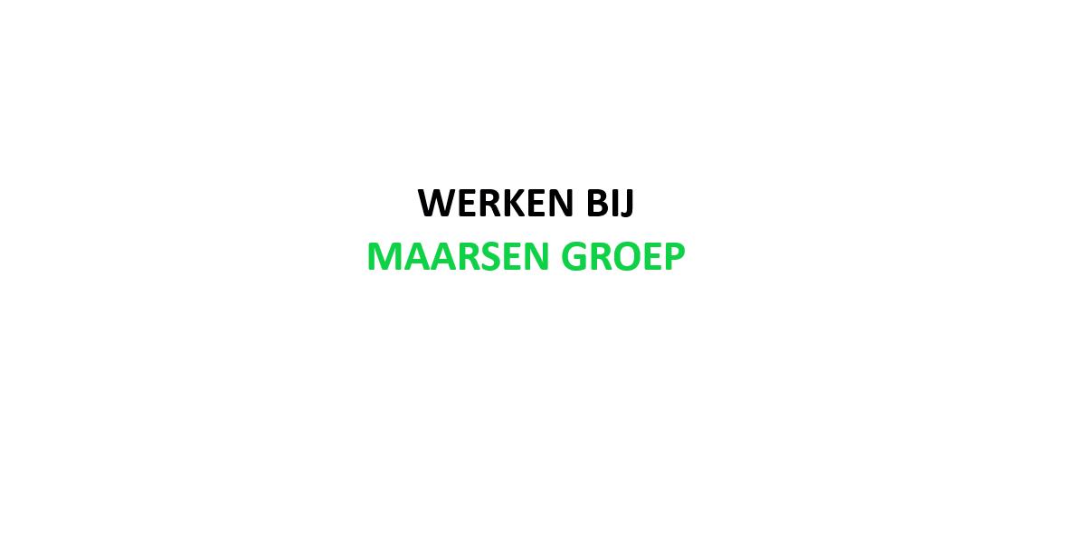 Maarsen Groep zoekt Property Manager (Technisch)