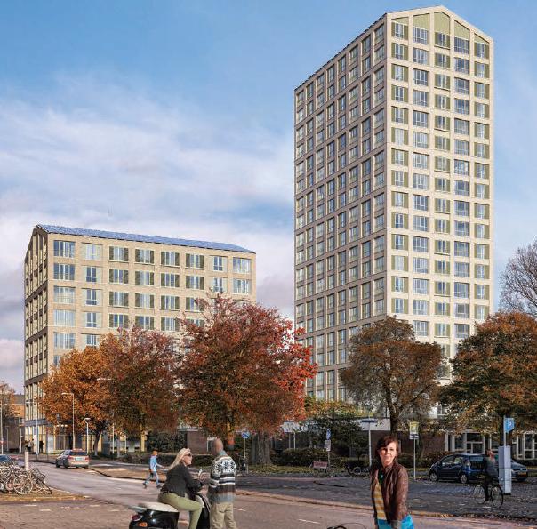 Maarsen Groep en Invesco Real Estate realiseren 221 duurzame middeldure huurwoningen in Amsterdam